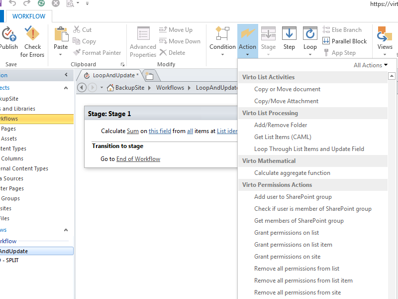 Office 365 Workflows - Simple and easy