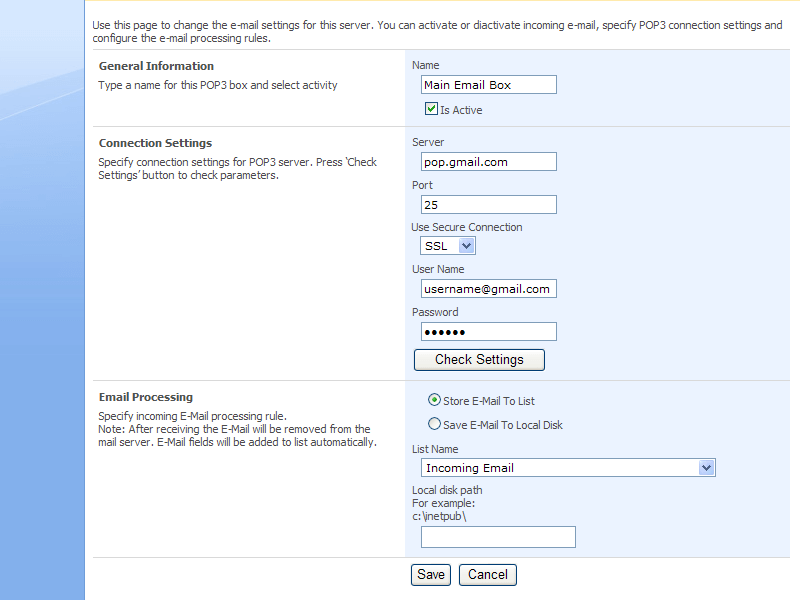 SharePoint Incoming E-mail Feature - VirtoSoftware