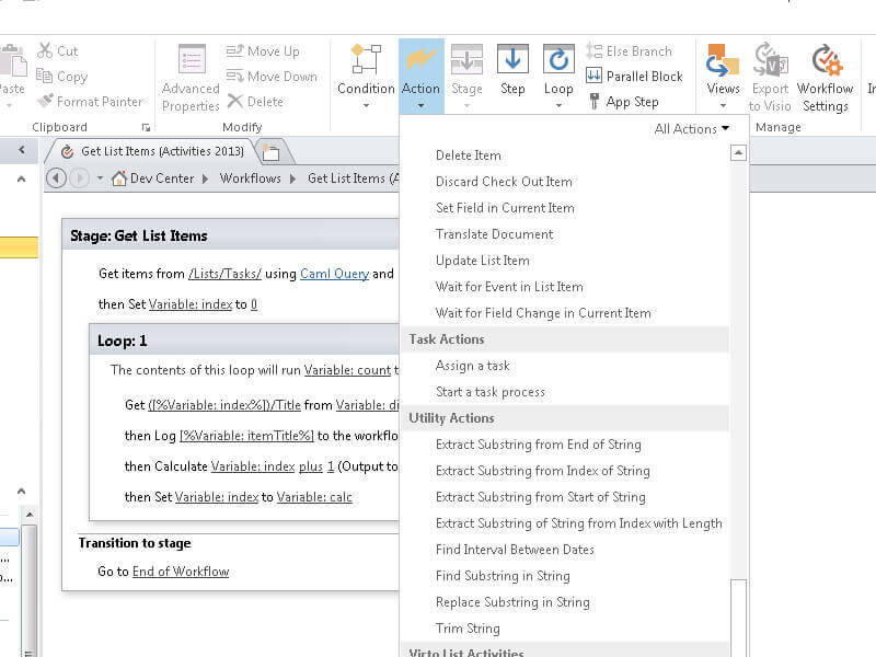 Workflow Activities Kit - SharePoint 2013 and 2010 backward compatibility