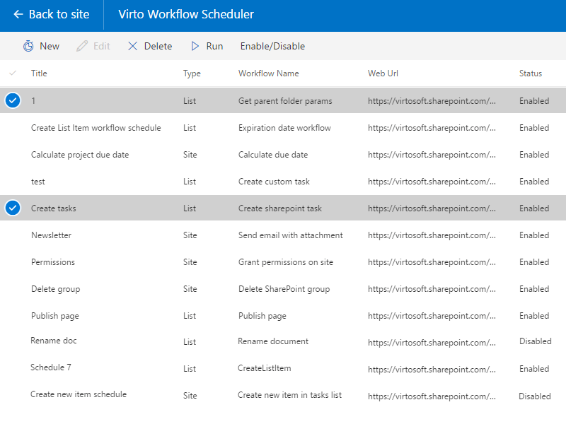 Office 365 Workflow Scheduler - Create custom workflow schedule within a minute!