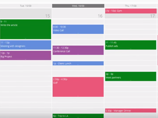 Video - Calendar Web Part
